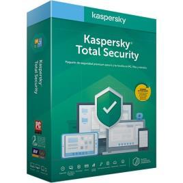 Kaspersky - Software Kaspersky Total Security 2020 5 User 1 Ano BOX