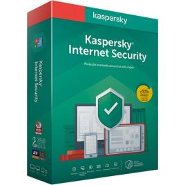 Kaspersky - Software Kaspersky Internet Security 2020 MD 3 User 1 Ano BOX