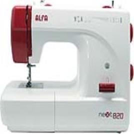 Máquina de Costura Alfa Next 820+ 4 mm Branco