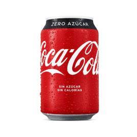 Bebida Refrescante Coca-Cola Zero (33 cl)