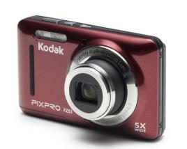 KODAK - Camara Fotografica Kodak 16Mp Zoom 5X FZ53 Red