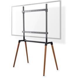 Suporte de Chão p/ TV LED-LCD-PLASMA 60 ~ 75 (Máx 40Kg) Preto - NEDIS