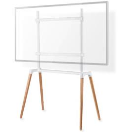 Suporte de Chão p/ TV LED-LCD-PLASMA 60 ~ 75 (Máx 40Kg) Branco - NEDIS