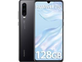 HUAWEI - Smartphone Huawei P30 6,1 FHD Octa Core 6 GB RAM 128 GB - Preto