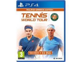 Big Ben - Tennis World Tour: Roland Garros Edition - PS4