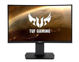 ASUS - ASUS - Monitor Gaming 24P VG24VQ WLED VA Curvo 1500R 1080p 1ms 144Hz 100000000:1/3000:1 350cd/m²