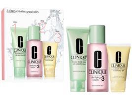 CLINIQUE - Conjunto de Cosmética Mulher 3 Steps Intro Skin Type Iii Clinique (3 pcs)