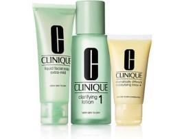 CLINIQUE - Conjunto de Cosmética Mulher 3 Steps Intro Skin Type Ii Clinique (3 pcs)