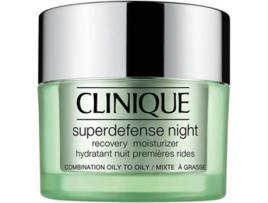 CLINIQUE - Creme Anti-idade Superdefense Night Clinique - 50 ml