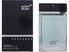 MONTBLANC - Perfume Homem Presence Montblanc EDT - 75 ml