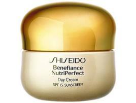 SHISEIDO - Creme Antienvelhecimento de Dia Benefiance Nutriperfect Shiseido - 50 ml