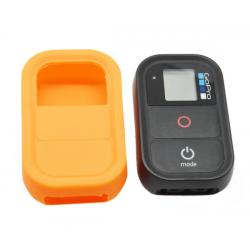New Mobile Capa Silicone Laranja para GoPro Controlo Remoto