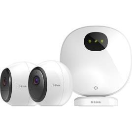 D-LINK - Kit Câmaras de Segurança Inteligente Wi-Fi D-Link mydlink™ Pro com Visão Noturna - FHD 1080p