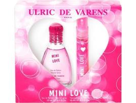 Ulric De Varens - Conjunto de Perfume Mulher Mini Love Ulric De Varens (2 pcs)