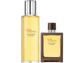 HERMES - Coffret HERMES Terre Vetiver Intenso Spray Edp 30 ml + Recarga 125 ml