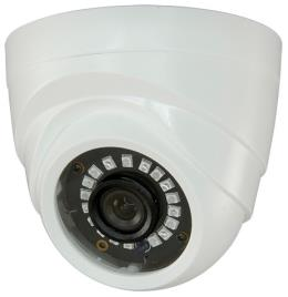 Camara Vigilancia DOME (HDCVI, HDTVI, AHD e Analógica) 18 LEDs Cores 1000L (1,3 Megapixel)