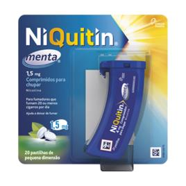 Niquitin Menta 1,5 mg - 20 unidades
