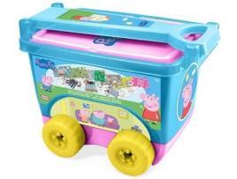 PEPPA PIG - D'ARPEJE Peppa Pig Mi Trolley Creativo (Incluye Set Creativo de 30 Piezas)