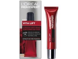 L'OREAL MAKE UP - Creme Antienvelhecimento para o Contorno de Olhos Men Expert LOreal Make Up (15 ml)
