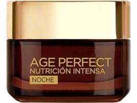 L'OREAL MAKE UP - Creme Antirrugas de Noite Age Perfect LOreal Make Up (50 ml)