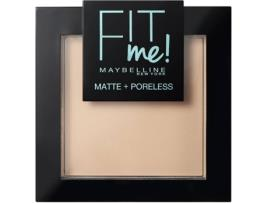 Pó Facial MAYBELLINE Fit Me Mate Poreless Compacto 115 Ivory