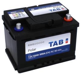 Bateria p/ Automóvel 12V 55Ah (242 x 175 x 175mm)