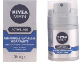 Nivea - Creme Antirrugas Men Active Age Nivea - 50 ml