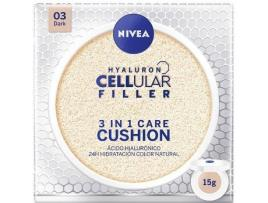 Nivea - Creme Colorante Hyaluron Cellular Filler Nivea - 03 - dark 15 g