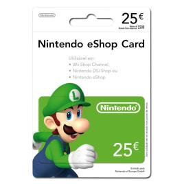 Cartão Nintendo eShop 25€