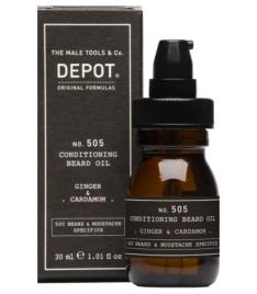 Depot Nº 505 Conditioning Beard Oil Ginger - Cardamom 30Ml
