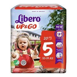 LIBERO UP GO FRALDA T5 10/14 KG X20