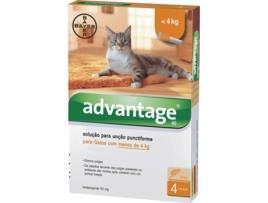 Marca do fabricante - Desparasitante para Gatos ADVANTIX Pipetas (Até 4 kg - 4x0,4 ml)