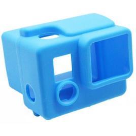 New Mobile Capa Silicone Azul para GoPro HERO3+