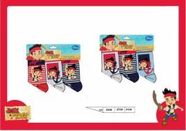 Conjunto Disney meias pirata Jake - Tamanho 31