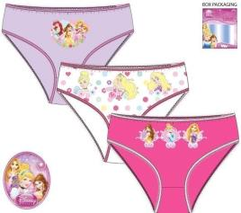 Conjunto 3 Cuecas Princesas Disney -  4- 5 Anos