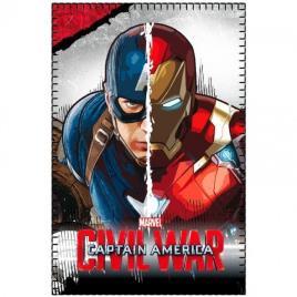 Manta Polar Capitão America Ironman Civil War Marvel