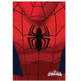 Manta polar Marvel Spiderman logo
