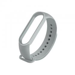 Bracelete Silicone Xiaomi para Mi Band 5 - Cinzento