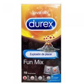Durex Preservativo Fun Mix x10