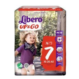 LIBERO UP GO FRALDA T7 16/26 KG X16
