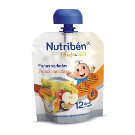 Nutribén Fruta Go Pure Frutas Variadas 90g