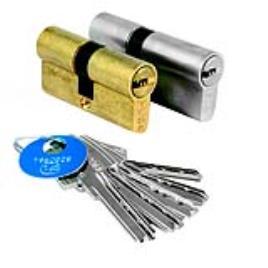 Cilindro chave pontos TESA 35X35MM LATONADO T60