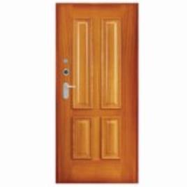 Porta de entrada blindada HI-TECH MOGNO 85X200CM DIREITA D45TR