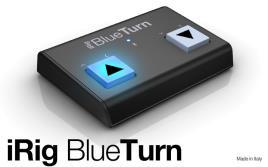 IK Multimedia - Pedaleira iRig BlueTurn