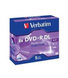 Verbatim DVD+R 8,5GB 8x 5uni Double Layer