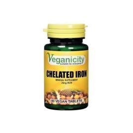 Veganicity - Ferro Quelato 24mg (90 comprimidos)