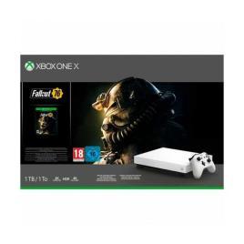 Xbox One X + Fallout 76 Microsoft 53518 1 TB 4K HDR Branco