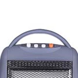 Aquecedor de Halogéneo Tristar KA5019 1200W Cinzento