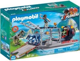 Playmobil - Playset The Explores - Dino Hydrofoil Playmobil 9433 (67 pcs)