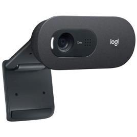 Webcam USB Logitech C505e HD - Preto